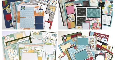 layout eksi artsy albums mini album and page layout kits and custom