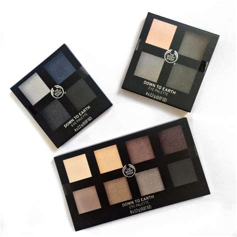 the shop to earth eyeshadow palettes review