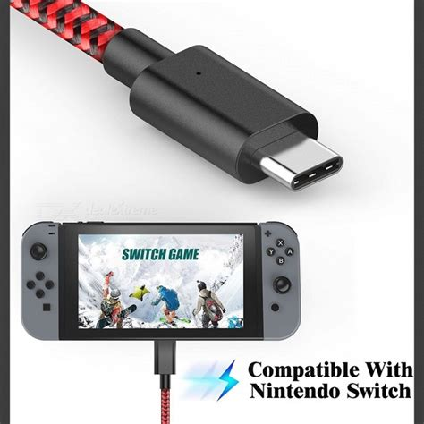 Nintendo Switch Energea Nylotugh 2 0 Usb C To Usb A 1 5m Black gamewill type c to usb 2 0 3a charging cable for nintendo switch free shipping dealextreme
