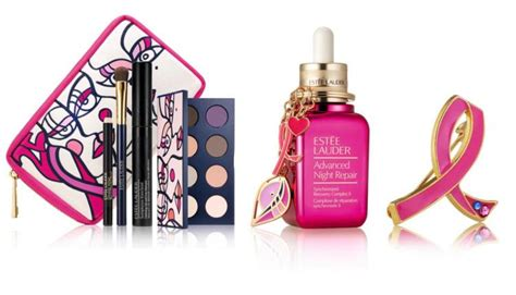 estee lauder pink ribbon fall  collection beauty