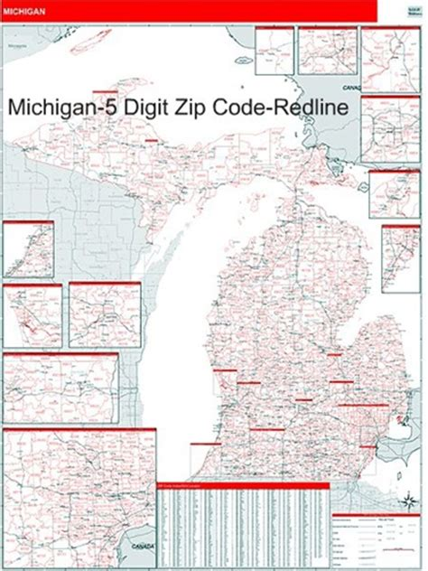 michigan area code map michigan zip code map with wooden rails from onlyglobes