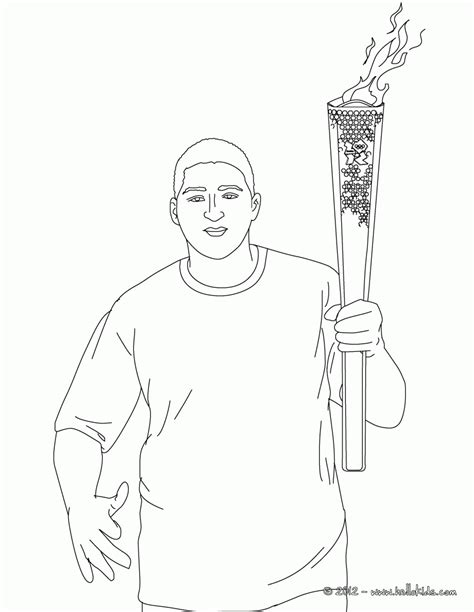 olympic torch coloring pages coloring home