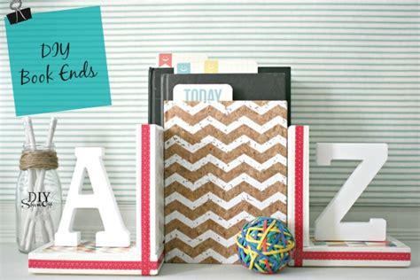 diy book ends diy show diy decorating and home