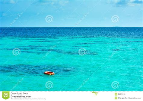 Beach House Plans Free A Buoy On The Sea Royalty Free Stock Image Image 34825746