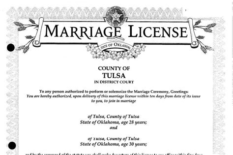 Oklahoma marriage record search