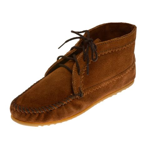 minnetonka moccasins 272 women s ankle boot brown suede