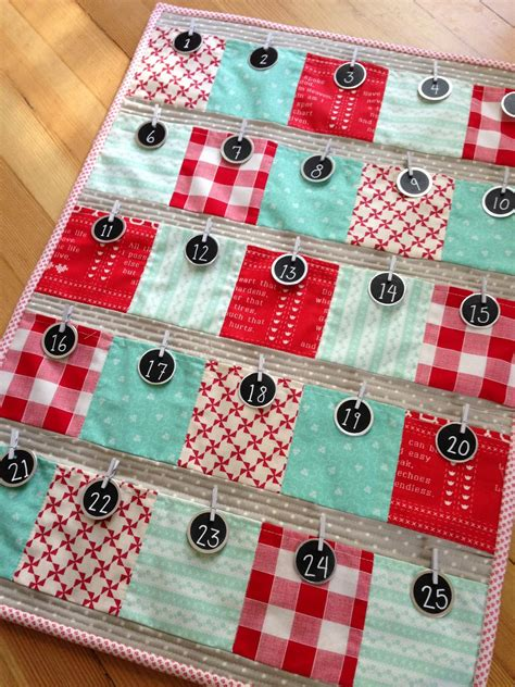 Patchwork Advent Calendar - december happenings quilting in the