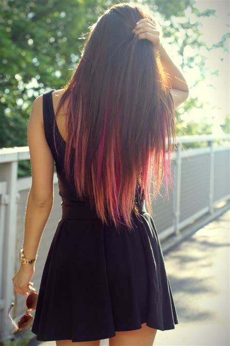 dye bottom hair tips still in style 25 best ideas about pink dip dye on pinterest dip dyed