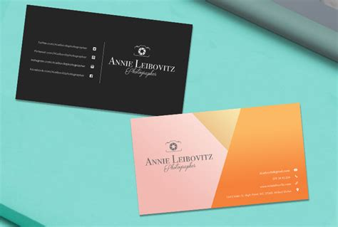 modeling business cards templates premade business card template name card template