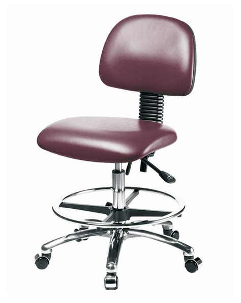 bench height chair fisherbrand medium bench height vinyl chairs with seat tilt