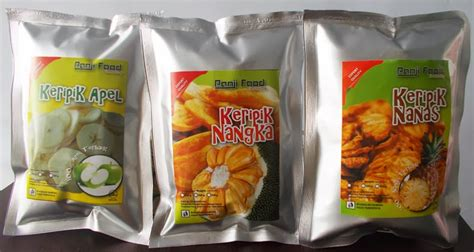 Crunch Keripik Buah Pisang Pedas grosir keripik buah sayur kualitas ekspor export quality