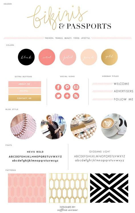 blog layout inspiration 2015 104 best images about classy ever after redesign ideas