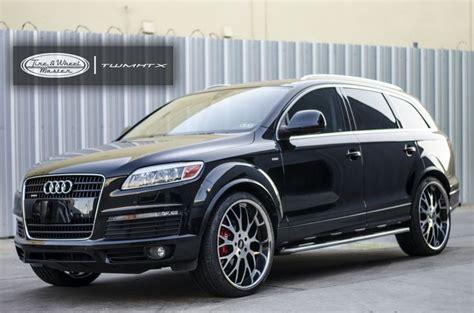 Audi Q7 Custom by Black Audi Q7 With Custom Wheels Audi Audi