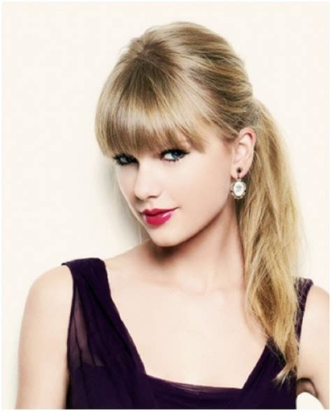 hair in pony tail with bangs fabulous fringes back with the bangs a beautiful hair