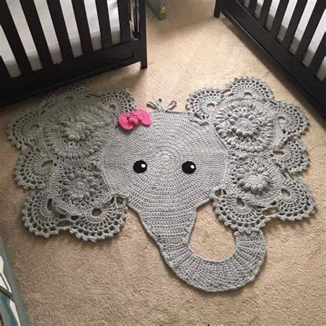 Crochet Elephant Rug Buy crochet elephant rug home design garden architecture
