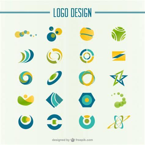 green  yellow abstract logo vector