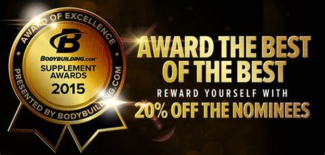 2015 supplement awards bodybuilding media