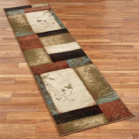 rugs runners impression leaf rug runner