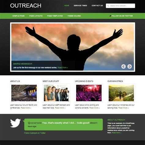 best template site 25 top church website templates for religious websites