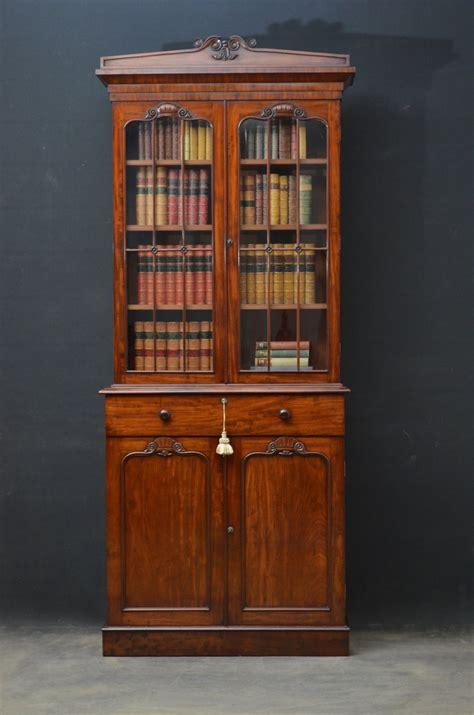William Iv Mahogany Bookcase Antiques Atlas Mahogany Bookshelves