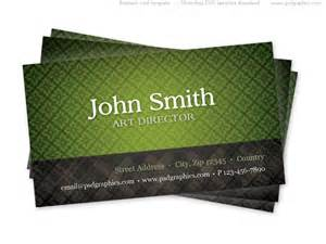 business card patterns green business card template with seamless pattern
