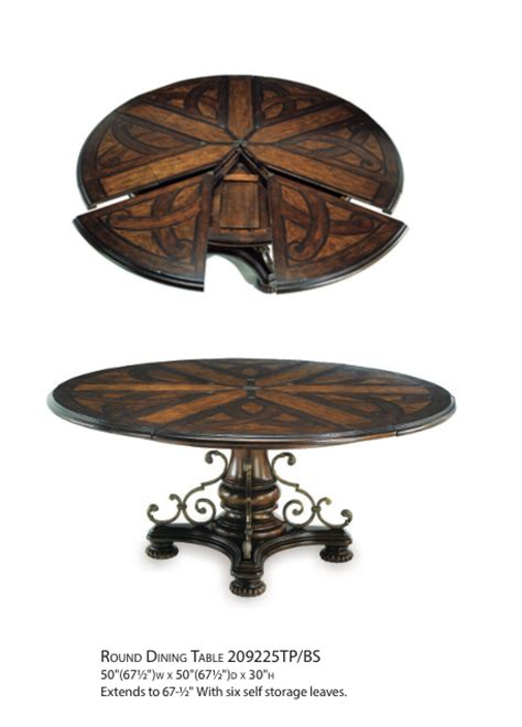 valencia antique style round table dining room set valencia antique style round table dining room set