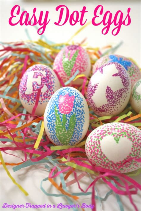 decorate easter eggs 30 easter egg decorating ideas