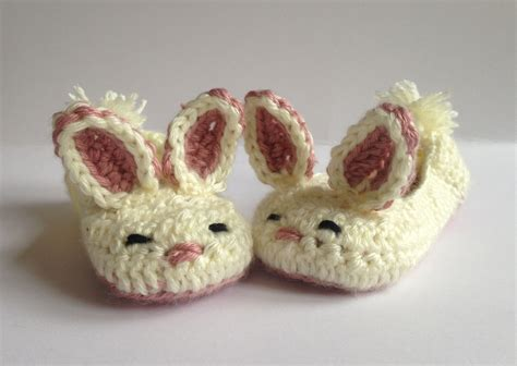 bunny rabbit slippers bunny slippers crochet slippers easter gift for