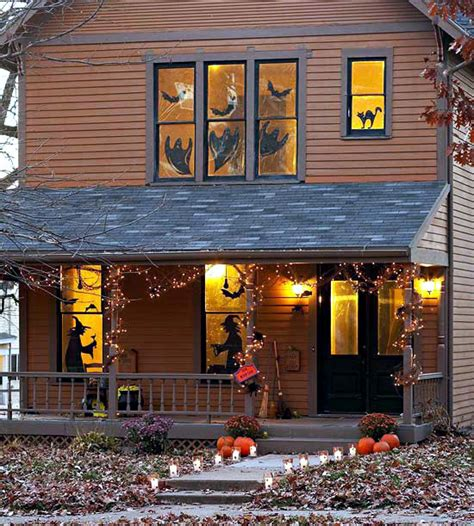 on the doorstep spooky decoration ideas for