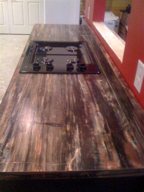 petrified wood formica laminate modern kitchen