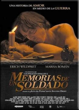 memorias de un soldado 8415043007 memorias de un soldado 2011 filmaffinity