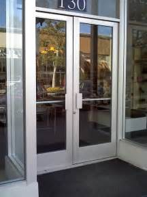Commercial Exterior Glass Doors Advanced Commercial Doors Inc