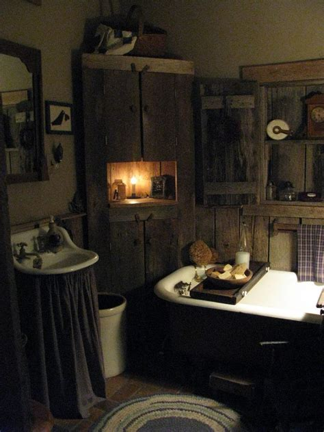 Primitive Country Bathroom Ideas by Country Primitive Bathroom Remodeling Ideas Litfmag Net