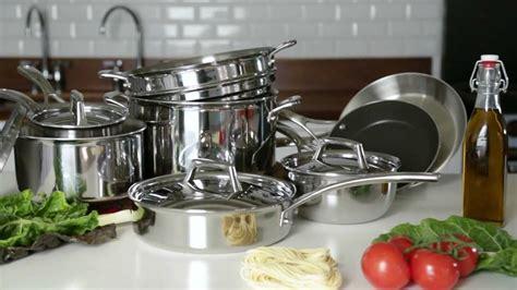 sur la table cookware all sur la table tri ply stainless steel cookware