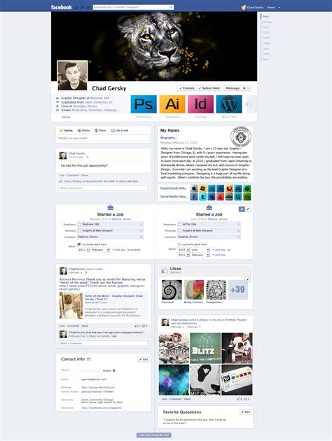 facebook resume cv by chadski51 on deviantart