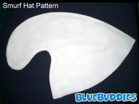 How To Make A Smurf Hat Out Of Paper - baseball hat pattern 171 design patterns