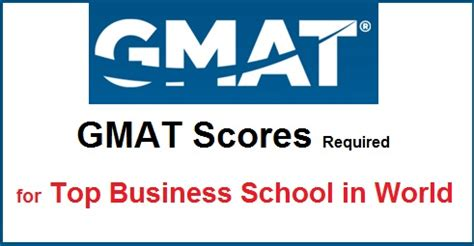 Gmat Score Needed For Nus Mba by Gmat Score Required In Top B Schools Cut Marks