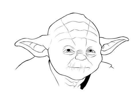 cute yoda coloring pages yoda face coloring page yoda mask coloring page 736x518px