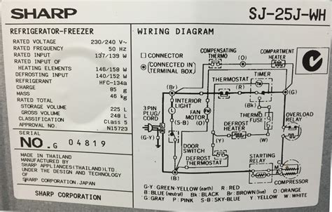 refrigerator understanding fridge wiring diagram home
