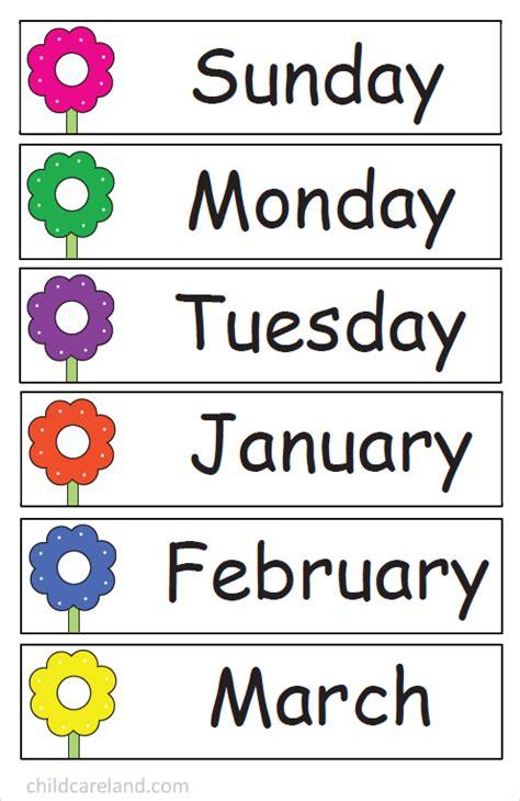 number tracing calendar