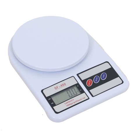 Timbangan Digital Sf 400 Kitchen Scale 10 Kg Include Baterai 10kg digital electronic weighing scale for kitchen food mailing sf400