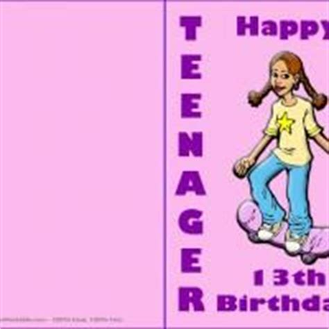 printable birthday cards teenage girl 1000 images about happy birthday cards on pinterest
