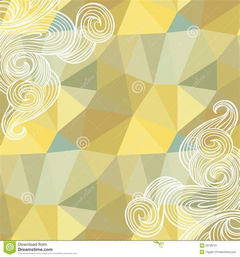 design pattern model seamless polygon triangle pattern stock illustration