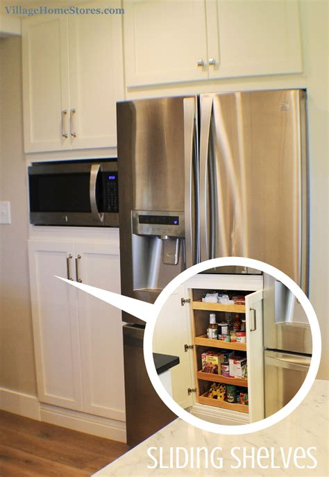 kitchen microwave pantry storage cabinet a built in microwave is located in the center of a pantry cabinet that has decisions