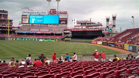 great american park section 136 cincinnati reds