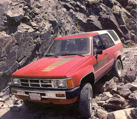 Best Year For Toyota 4runner Was The Toyota 4runner The Best Suv Of The 80s