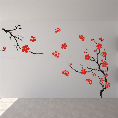 cherry blossom wall decor wall decal wall wall by