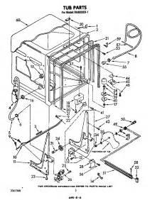 Bathtub Drain Key Whirlpool Du6000xr1 Timer Stove Clocks And Appliance Timers