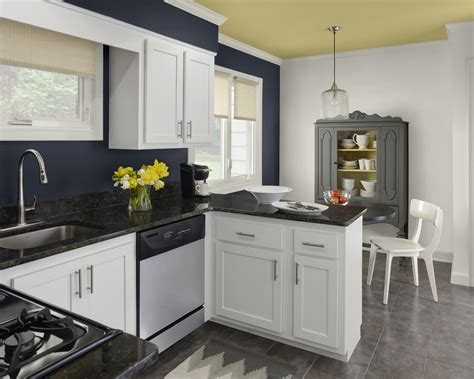 These Kitchen Color Schemes Would Surprise You Midcityeast Color Schemes For Kitchens With White Cabinets