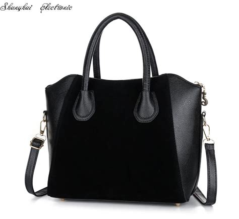 Saleeee Fashion Bag 8057 sale bag fashion bags 2015 patchwork nubuck leather s handbag smiley shoulder bags